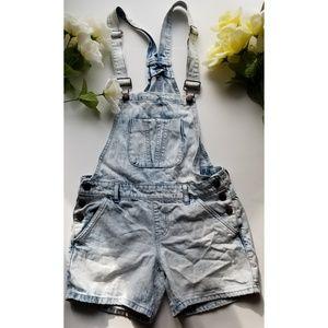 Forever 21 overalls shorts